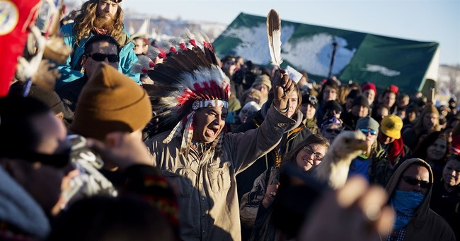 The Latest: Tribal leader: Pipeline opponents should go home
