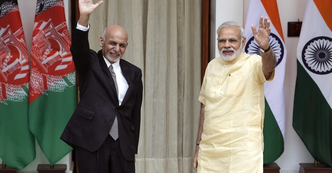 Indian, Afghan leaders urge end to terror support