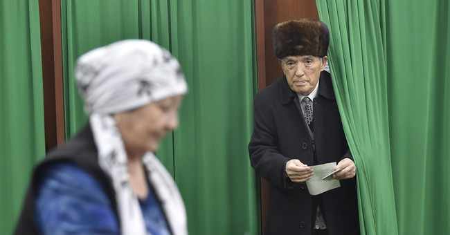 Uzbekistan's acting president wins election overwhelmingly