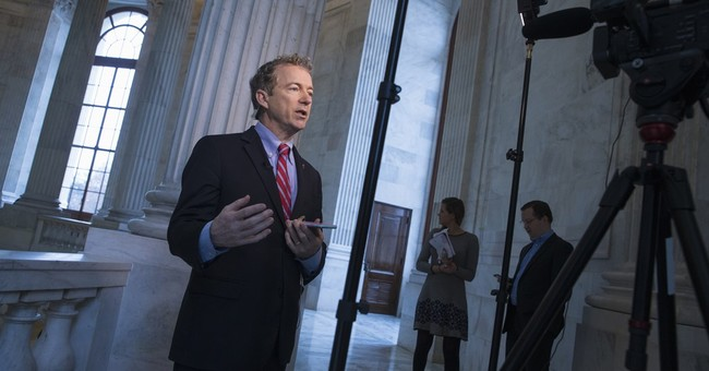 Rand Paul runs for president, has to settle for a caucus