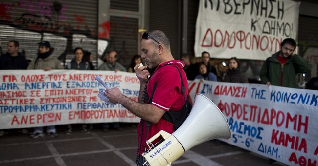 Greek journalists strike as part of anti-bailout action