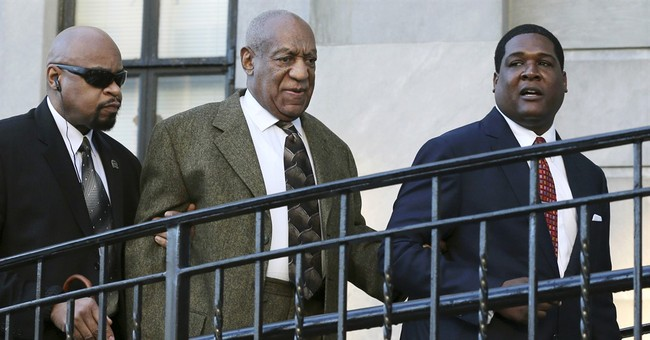 The Latest: Cosby leaves court after judge rules against him