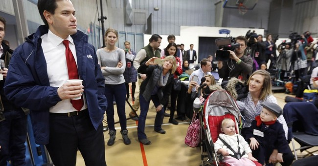 Rubio looks to NH to peg himself as a Republican for all