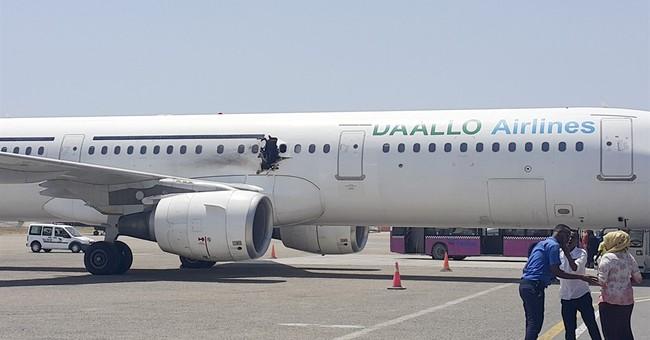 Pilot recounts blast on jet, emergency return to Mogadishu