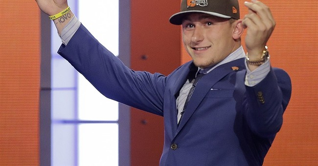 Johnny Manziel's father worried quarterback self-destructing