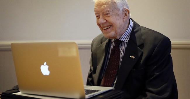 Jimmy Carter hopeful for Guinea worm eradication in Africa