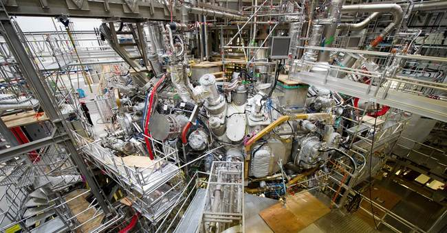 Scientists in Germany switch on nuclear fusion experiment