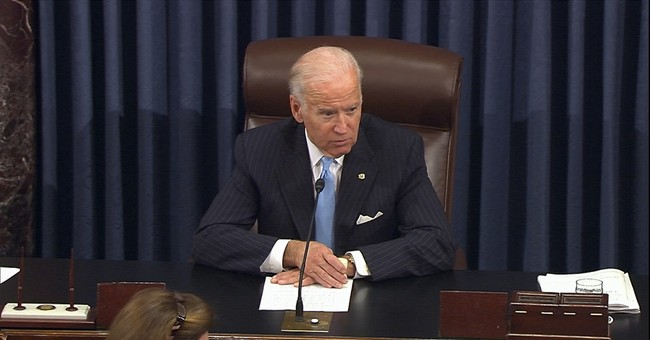 Biden in 2020? With a smile, he says he's not ruling it out