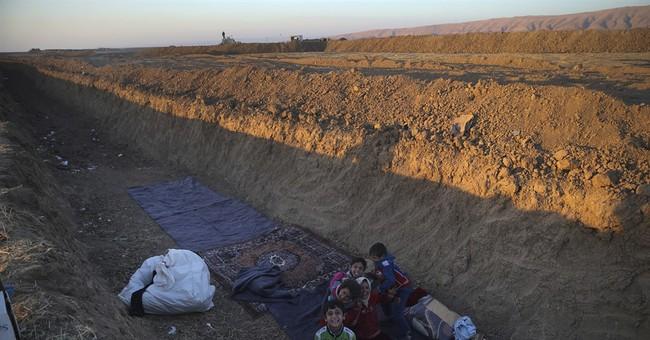 As Iraq's Kurds eye statehood, a border takes shape