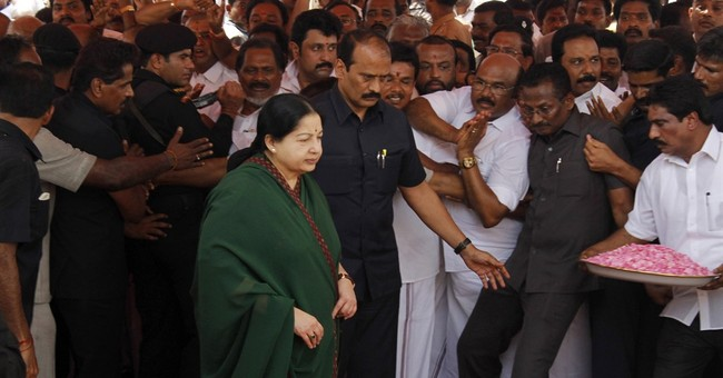 Indian actress-turned-politician Jayaram Jayalalithaa dies