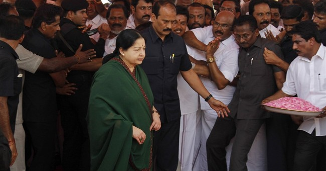 Indian actress-turned-politician Jayaram Jayalalithaa dies