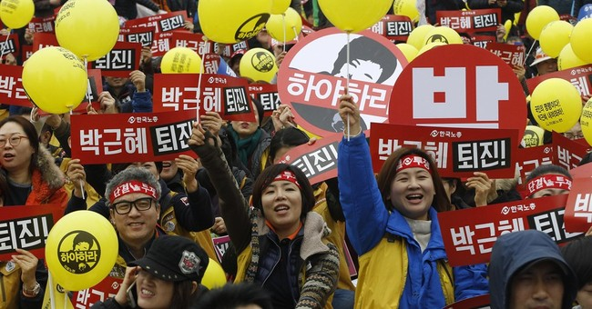 A look at the music accompanying massive S. Korean rallies