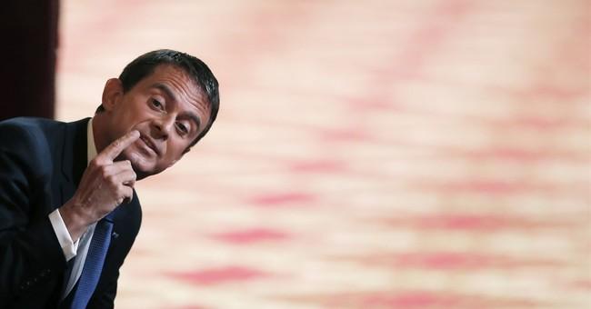 PM Valls bids for French presidency under Socialist banner