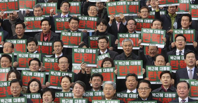 S. Korea enters crucial week with impeachment vote on Park