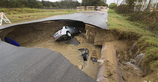 Deputy dies when personal car goes into San Antonio sinkhole