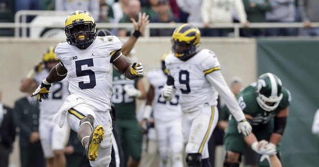 Michigan's Peppers shocked to be Heisman Trophy finalist