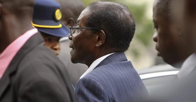 Zimbabwe's Mugabe, 92, appeals for calm amid economic crisis