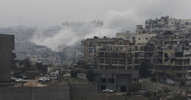 Syria says it seized nearly 75 percent of eastern Aleppo