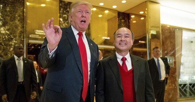 Trump: Japanese mogul pledges $50 billion US investment
