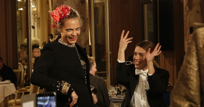 Pharrell and celebs put on the Ritz with Chanel in Paris