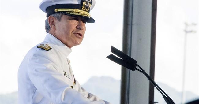 Commander backs standing for national anthem at Pearl Harbor