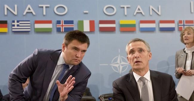 NATO chief urges West to keep pressuring Russia over Ukraine