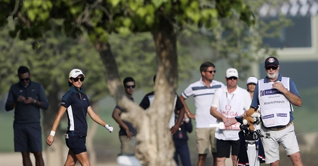 Caddie dies, 1st round stopped at Dubai Ladies Masters