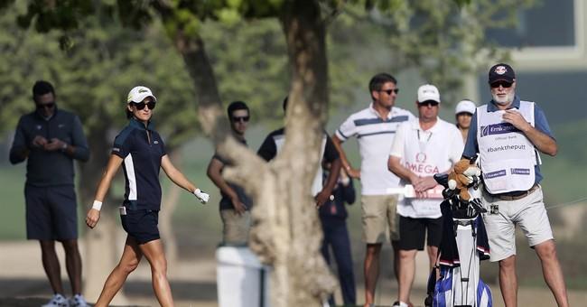 Caddie dies, 1st round stopped at Dubai Ladies Masters