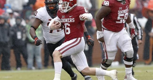 No longer the underdog, Oklahoma QB Mayfield still has fire
