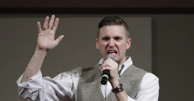 Hundreds protest white nationalist's speech at Texas A&M