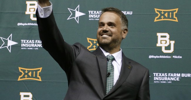 Baylor Rhule: Bears introduce coach in campus celebration