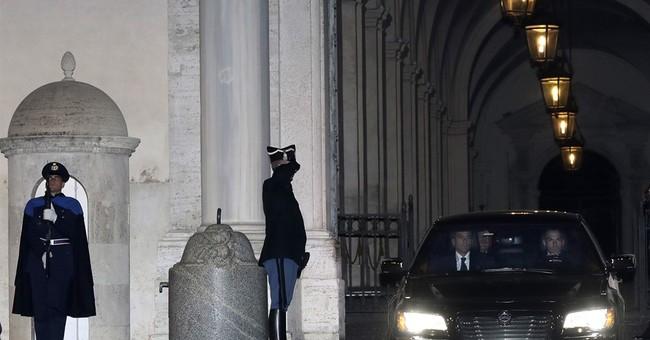 Italian populists renew anti-euro stance while eyeing power