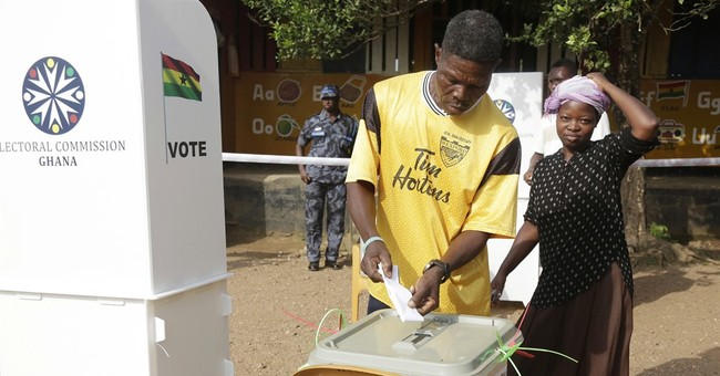 Ghana president, longtime opposition leader face off in vote