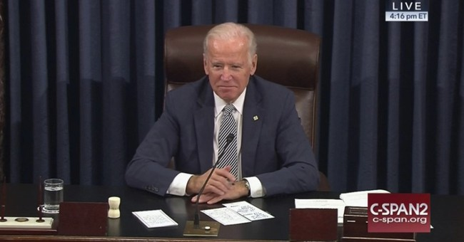 'Mr. President' Biden as GOP, Dem senators pay tribute