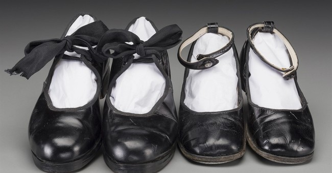 Auction of Shirley Temple items includes childhood tap shoes
