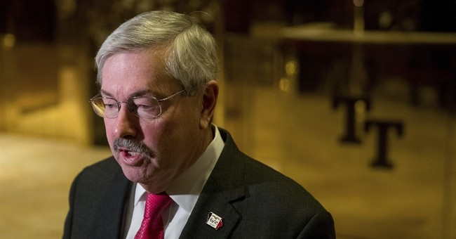Iowa Gov. Branstad is Trump's pick for ambassador to China