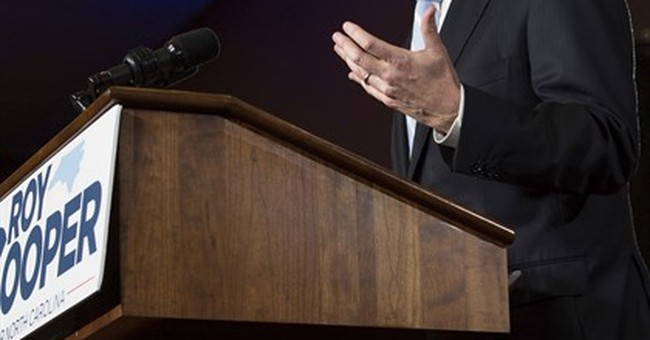 Next North Carolina governor says he can carry out agenda