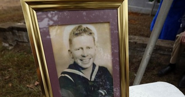 Sailor laid to rest 75 years after his death at Pearl Harbor