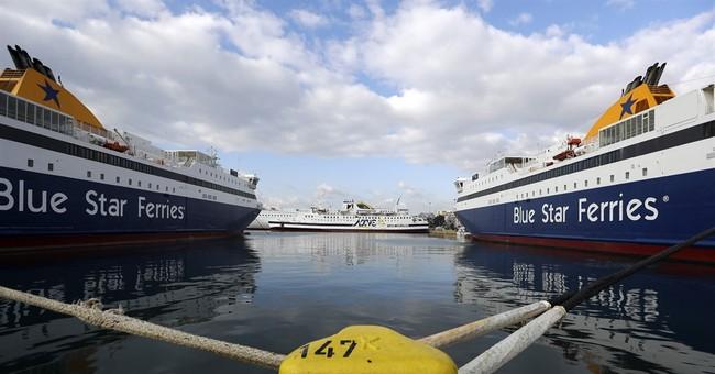 Greece ferry strike hits island supplies
