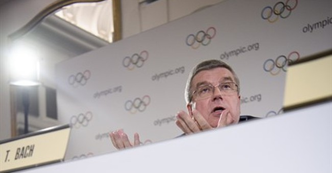 IOC president Bach wants life bans for proven Russian cheats