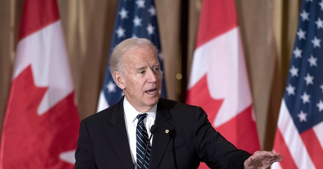 Biden says world will look to liberal Trudeau