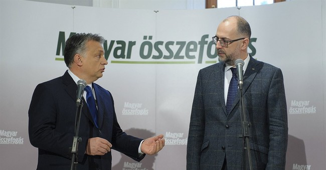 Hungary's leader urges Hungarian minority to vote in Romania