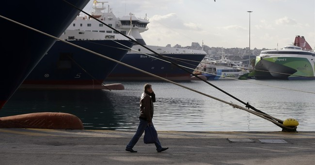 Greece ferry strike hits island supplies