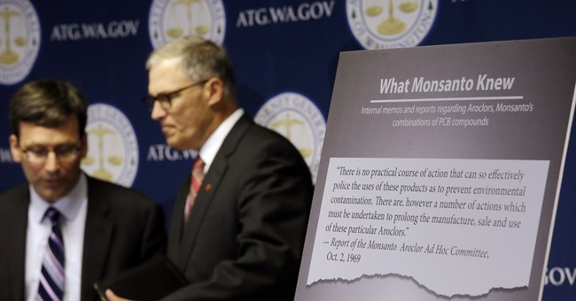 Washington state suing agrochemical giant over PCB pollution