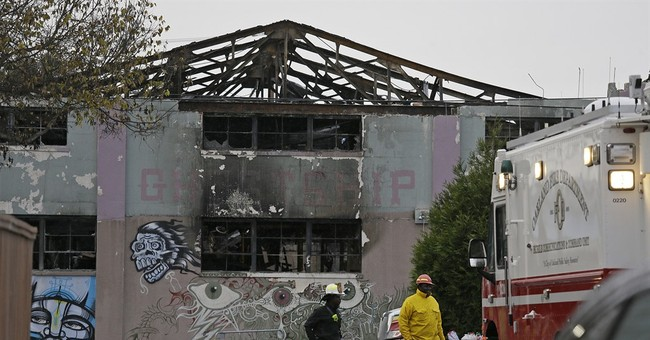 The Latest: Benefit concert set to help Oakland fire victims