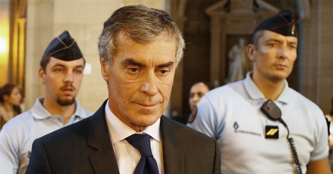 French ex-budget minister sentenced to 3 years