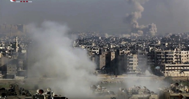 The Latest: Kerry presses efforts to save Syria's Aleppo