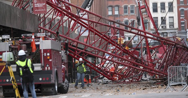 Fatal NYC crane collapse blamed on operator error