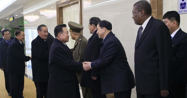 North Korean delegation back from paying respects to Castro