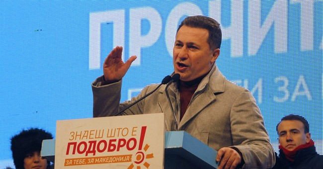 Macedonian president appeals for fair, free election Sunday